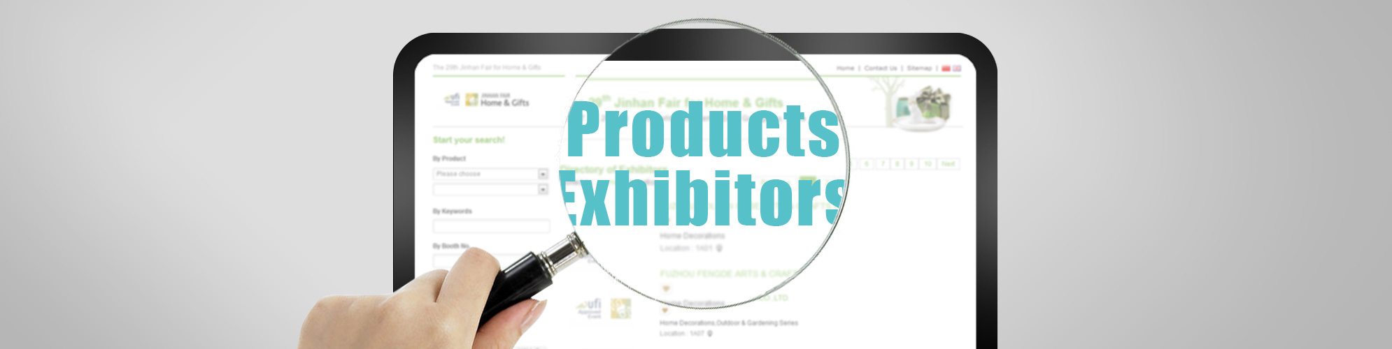 Products & Exhibitors
